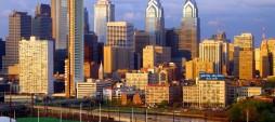 Arrived in Philadelphia