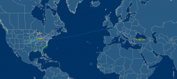 Chicago to Istanbul to Tel Aviv